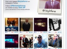 Men's Wearhouse #Styleforce promotion for Dreamforce
