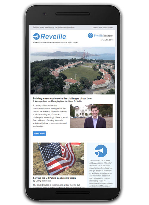 Presidio Institute's Reveille